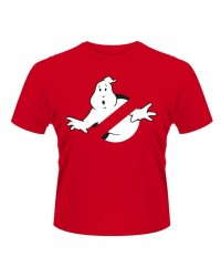 GHOSTBUSTERS LOGO RED T-Paita