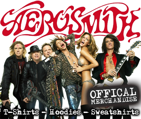 Offical Aerosmith merchandise