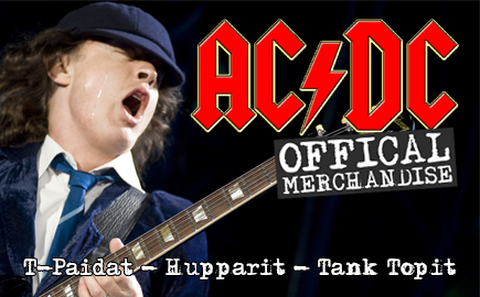 Offical AC/DC merchandise