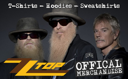 Offical ZZ Top merchandise