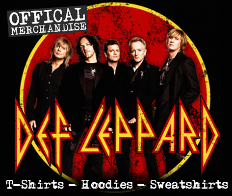 Offical Def Leppard merchandise