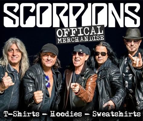 Offical Scorpions merchandise