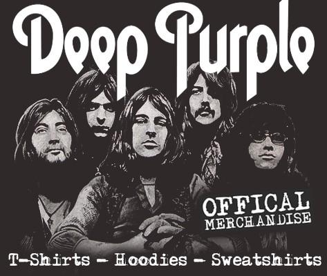 Offical Deep Purple merchandise