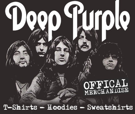 Offical Deep Purple merchandise